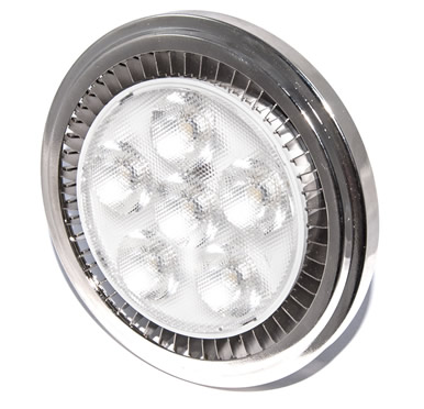 AR111 Power led Dimbare G53 6x2W Power LED Spot 12 watt Warm wit