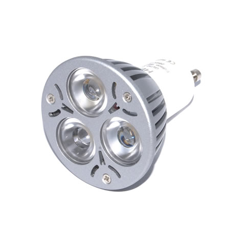 GU10 Powerled 3x1W Power LED Spot 3 watt Warm wit 30 graden origineel Edison