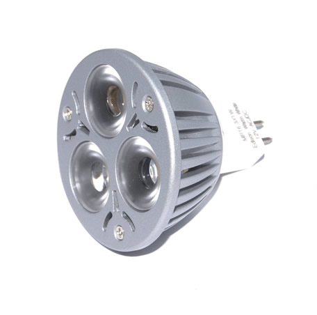 MR16 Powerled GU5.3 3x1W Power LED Spot 3 watt Warm wit orgineel Edison